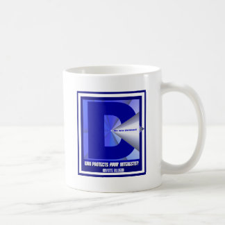The New Democrat - Who protects your interests? Coffee Mug