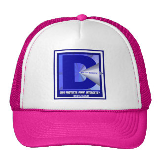 The New Democrat - Who protects your interests? Trucker Hat