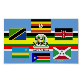 THE NEW EAST AFRICA POSTER