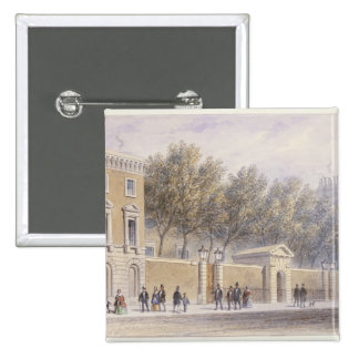 The New Entrance to Grocers' Hall, 1854 Button