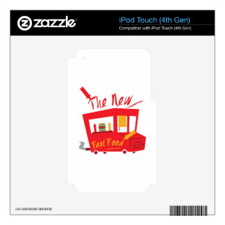 The New Fast Food Decal For iPod Touch 4G