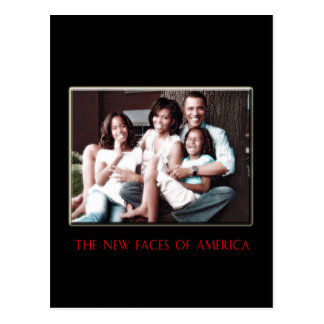 THE NEW FIRST FAMILY POST CARDS