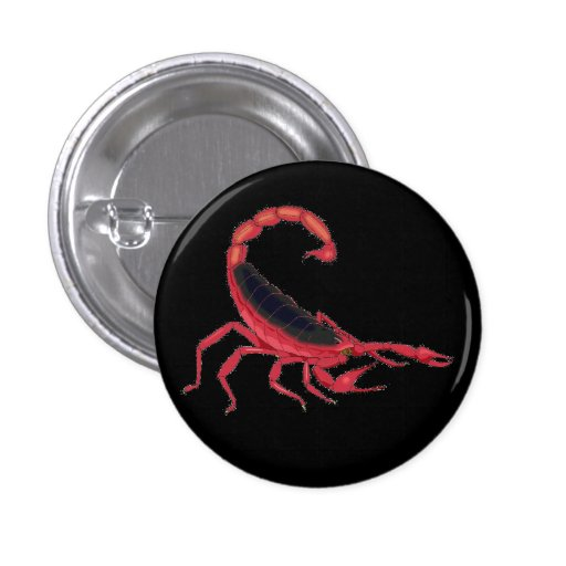The New Flesh Scorpian Pinback Button