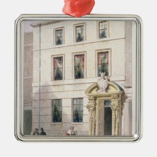 The New Front of Painter Stainers Hall, 1850 Metal Ornament