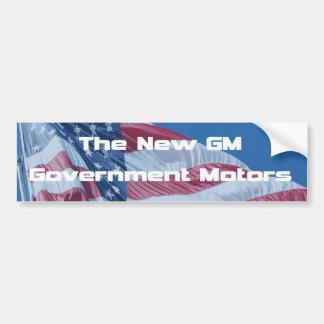 The New GM Government Motors Bumper Sticker