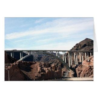 The New Hoover Dam Bypass Bridge Card