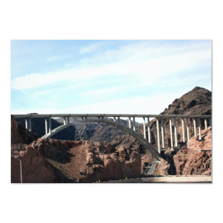 The New Hoover Dam Bypass Bridge 5x7 Paper Invitation Card