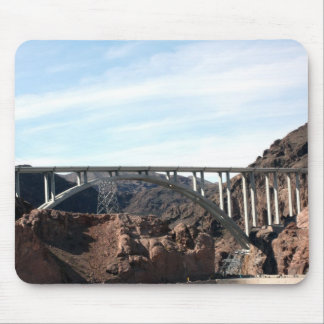 The New Hoover Dam Bypass Bridge Mouse Pad