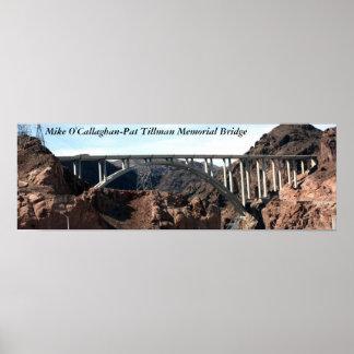 The New Hoover Dam Bypass Bridge Poster