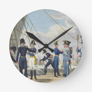 The new Imperial Royal Austrian Navy after the Nap Round Clock