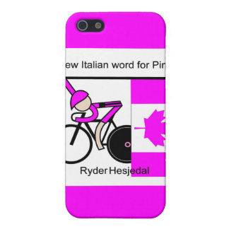 The New Italian Word for Pink. Case For iPhone SE/5/5s
