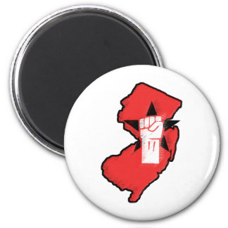 The New Jersey Fist Pumpers Fridge Magnets