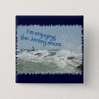 The New Jersey Shore Pinback Button