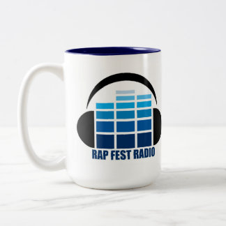The NEW LOGO Rap Fest Radio Mug