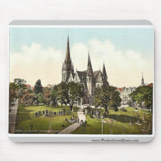 The New Luther Church, Cassel (i.e., Kassel), Hess Mouse Pads