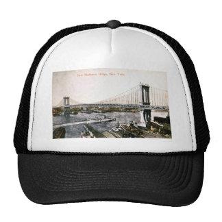 The New Manhattan Bridge ca 1909-10 Hat
