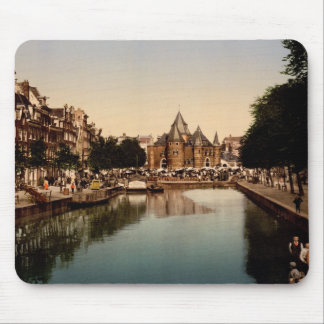 The new market and bourse Amsterdam Mouse Pad