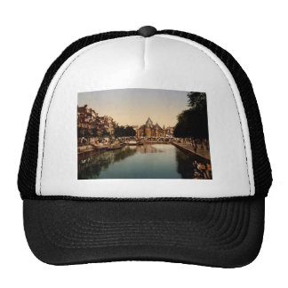 The new market and bourse Amsterdam Trucker Hat