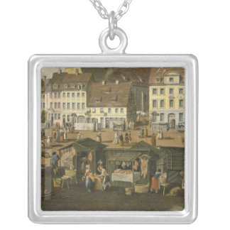 The New Market in Berlin with the Marienkirche Necklace