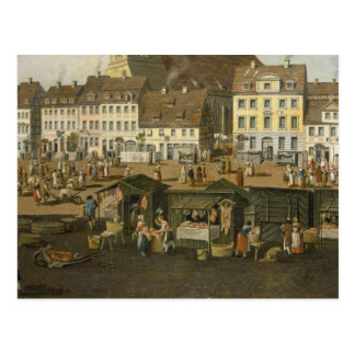 The New Market in Berlin with the Marienkirche Postcard
