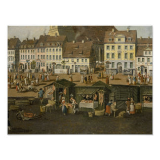 The New Market in Berlin with the Marienkirche Posters