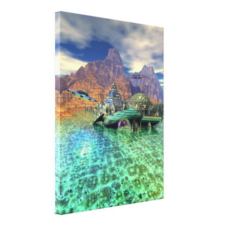 The New Martin Chronicles by Apollo Stretched Canvas Print