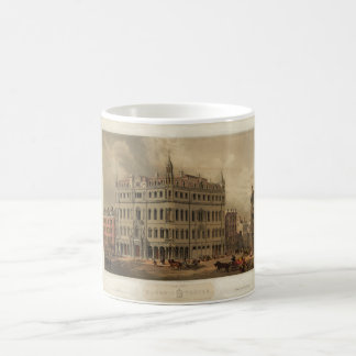 The New Masonic Temple - Boston (1855) Coffee Mug