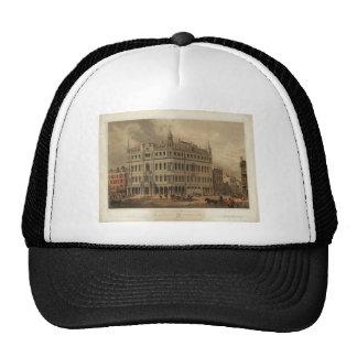 The New Masonic Temple - Boston 1855 Hats