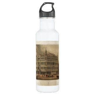 The New Masonic Temple - Boston (1855) Stainless Steel Water Bottle