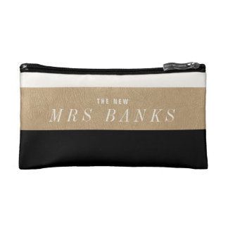 The New Mrs. Black Makeup Bags
