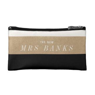 The New Mrs. Black Makeup Bag
