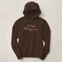 The New Mrs. Embroidered Hoodie