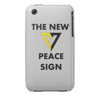 The New Peace Sign iPhone 3 Case-Mate Cases