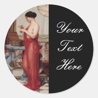 The New Perfume Godward Classic Round Sticker