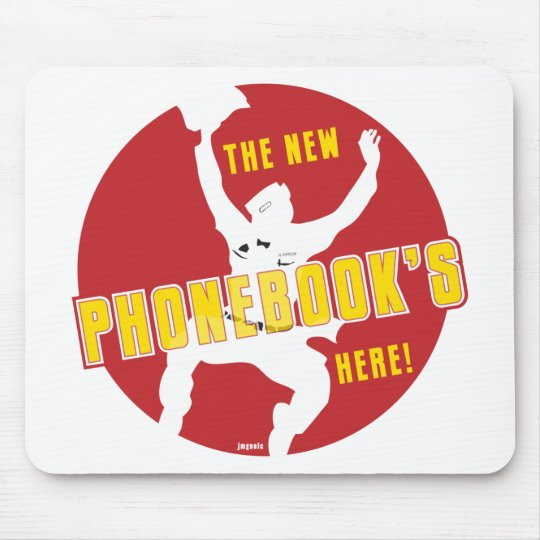 The New Phonebook's Here! Mouse Pad