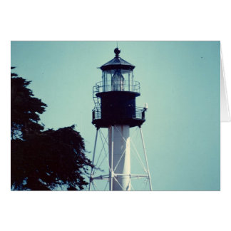 The New Point Loma Lighthouse (in color) Card