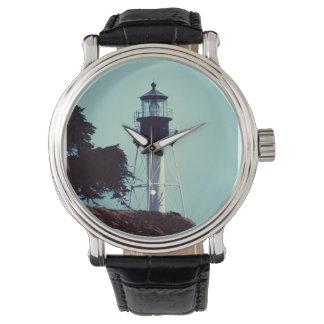 The New Point Loma Lighthouse (in color) Wrist Watches