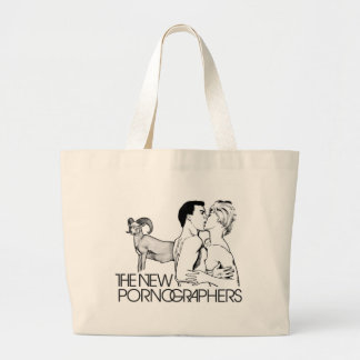 The New Pornographers Mass Romantic Large Tote Bag