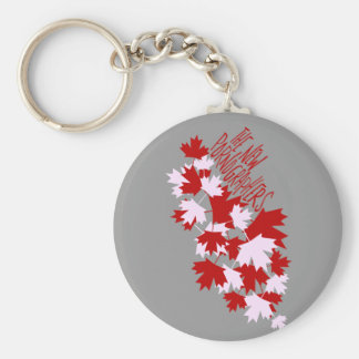 The New Pornographers Oh Canada! Basic Round Button Keychain