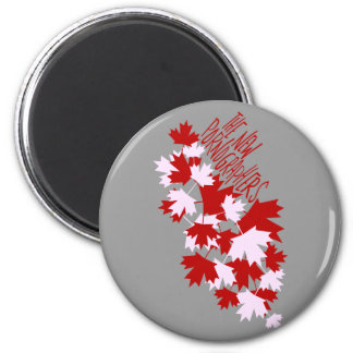 The New Pornographers Oh Canada! 2 Inch Round Magnet