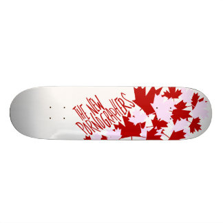 The New Pornographers Oh Canada! Skateboard