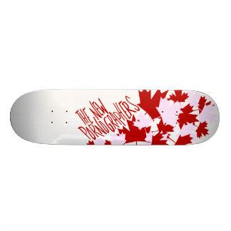 The New Pornographers Oh Canada! Skate Board Decks