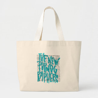 The New Pornographers Pornology Large Tote Bag