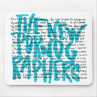 The New Pornographers Pornology Mouse Mat