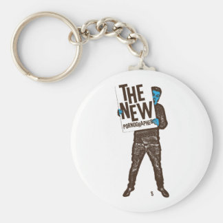 The New Pornographers Sign Keychain