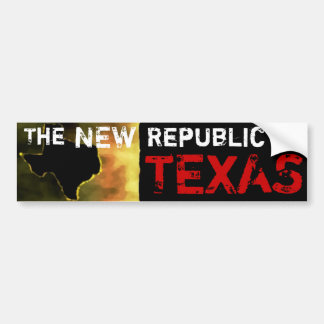 The New Republic of Texas Bumper Sticker