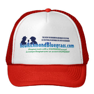 The New Richmond Bluegrass Festival Hat