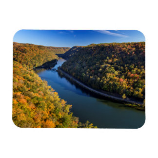 The New River Gorge At Hawks Nest State Park Magnet
