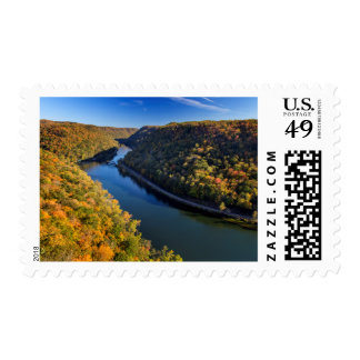 The New River Gorge At Hawks Nest State Park Postage