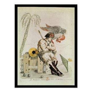 The New Robinson of St. Helena, 1815 Poster